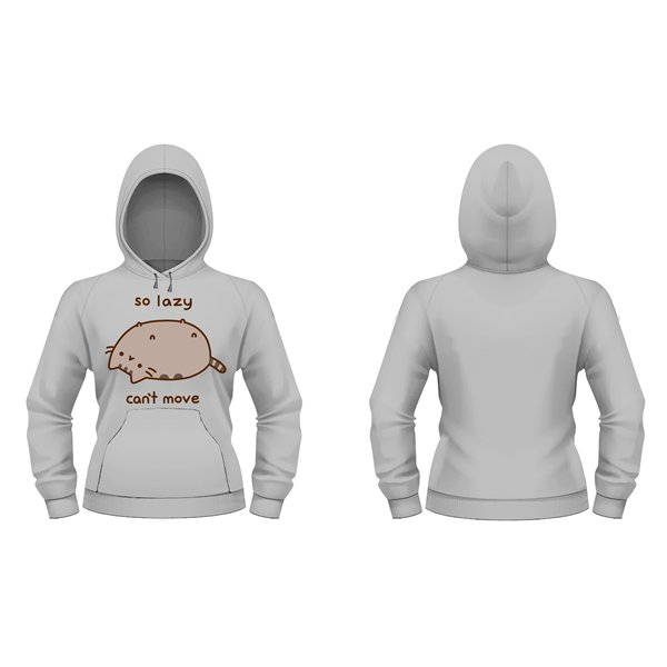 Sweat-shirt Pusheen SO LAZY CAN'T MOVE