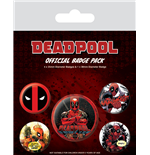 Badge Deadpool 242275