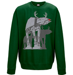 Sweatshirt Star Wars - AT-AT Xmas Walker