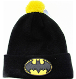Batman bonnet Bobble Logo