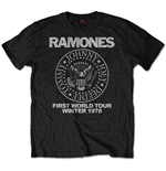 T-shirt Ramones Special Edition: First World Tour 1978