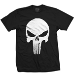 T-shirt Marvel Comics: Punisher Jagged Skull