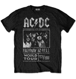 T-shirt AC/DC Special Edition: Highway to Hell World Tour 1979/1980