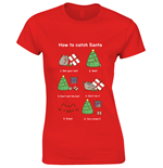 T-shirt Pusheen - How To Catch Santa