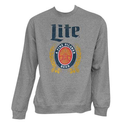 Sweat shirt Miller Beer  pour homme