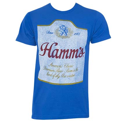 T-shirt Hamm's Beer  pour homme