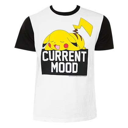 T-shirt Pokémon - Pikachu Current Mood