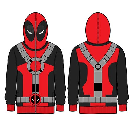 Sweat à Capuche Deadpool - Masque