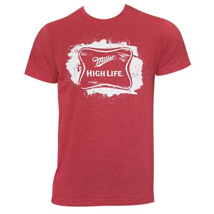 T-shirt Miller High Life - Sketched Logo