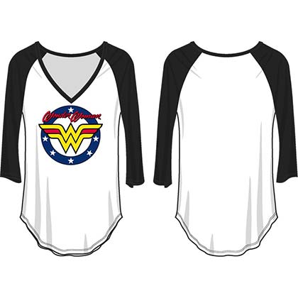 T-shirt Manches Longues Wonder Woman