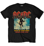 T-shirt AC/DC pour homme - Design: Blow Up Your Video