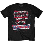 T-shirt AC/DC pour homme - Design: We Salute You Stripe