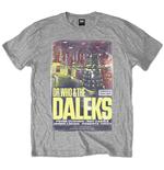 T-shirt Doctor Who  pour homme - Design: Daleks