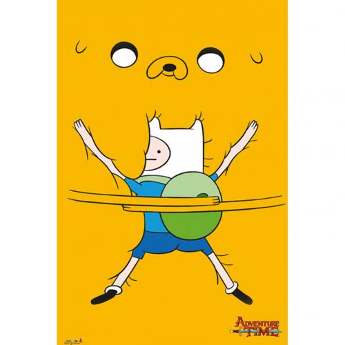 Poster Adventure Time - bro Hug