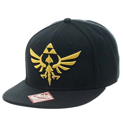 Casquette The Legend of Zelda - Golden Triforce Logo