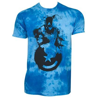 T-shirt Captain America - Cloud Wash