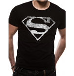 T-shirt Superman - Logo Délavé