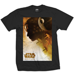 T-shirt Star Wars: Rogue One Jyn Silhouette