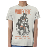 T-shirt Mötley Crüe: World Tour Vintage