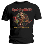 T-shirt Iron Maiden: Book of Souls Eddie Circle