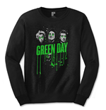 T-shirt Manches Longues Green Day: Drips