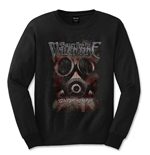 T-shirt Manches Longues Bullet For My Valentine: Temper Temper Gas Mask