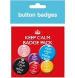Badge Keep Calm and Carry On 244454