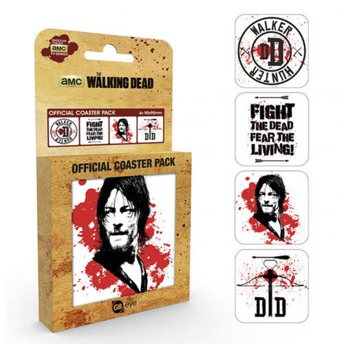 Sous-verres The Walking Dead