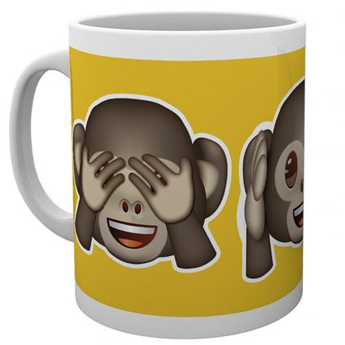 Tasse Emoji Monkeys
