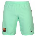 Short de Football FC Barcelone Nike Third 2016-2017 (Vert Menthe) - Enfants