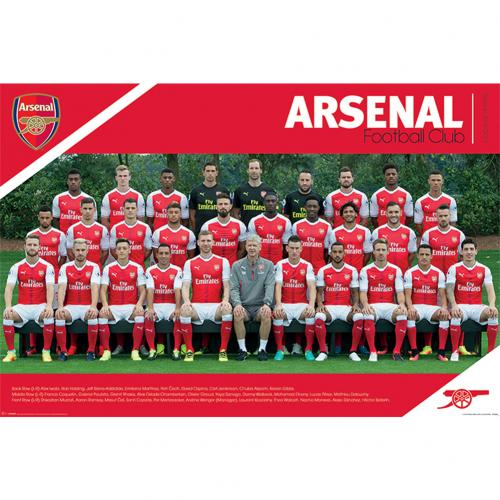 Poster Arsenal FC - Squad