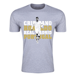 T-shirt Real Madrid (Gris)