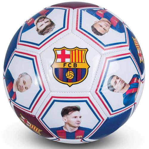 Ballon de Football FC Barcelone - Photo et Autographes