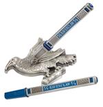 Harry Potter set stylo à bille et porte plume Ravenclaw