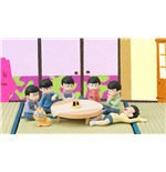 Osomatsu-san pack 6 figures Palmate We are family! 6 cm