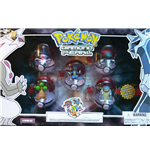 Pokemon Diamond and Pearl pack 5 porte-clés PVC