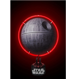 Star Wars Lampe Neon Death Star 22 x 31 cm