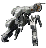 Metal Gear Solid 4 figurine Plastic Model Kit 1/100 Metal Gear Rex MGS 4 Version 22 cm