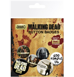 Badge The Walking Dead 245479