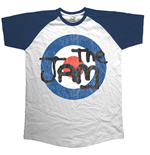 T-shirt The Jam: Target Logo Distressed