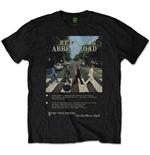 T-shirt The Beatles: Abbey Road 8 Track
