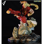 Street Fighter diorama Battle of the Brothers 1/6 Ken Masters 45 cm