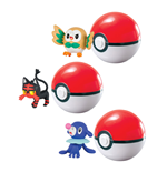 Pokemon assortiment Clip´n´Carry Poké Ball Wave D9 (6)