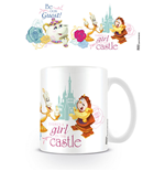 La Belle et la Bête mug Be Our Guest