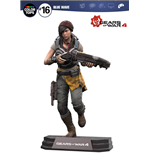 Gears of War 4 figurine Color Tops Kait Diaz 18 cm