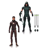DC TV pack 2 figurines Arrow & The Flash 17 cm