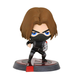 Captain America Civil War Bobble Head Winter Soldier 13 cm