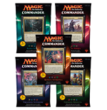 Magic the Gathering Commander (édition 2016) présentoir de decks (5) *ITALIEN*