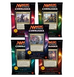 Magic the Gathering Commander (édition 2016) présentoir de decks (5) *FRANCAIS*