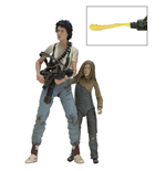 Aliens pack 2 figurines Deluxe 30th Anniversary Ripley & Newt 18 cm